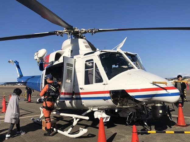 Photos: 愛知県防災航空隊 ベル412EPI JA23AR わかしゃち IMG_2065
