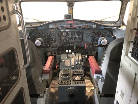 YS-11 52-1152 機内 コックピット IMG_2035