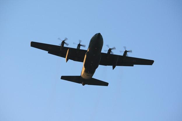 航空自衛隊 第401飛行隊 C-130H 輸送機 IMG_8965_2