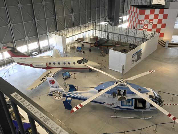 あいち航空ミュージアム 1階展示フロア IMG_4546_2