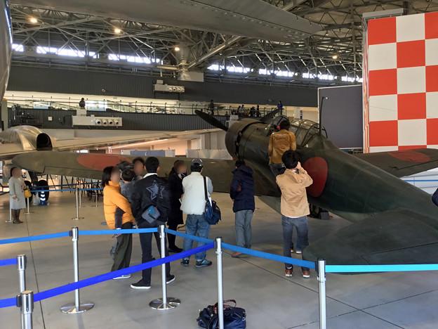 零戦52型 永遠の0 撮影用実物大模型 機体紹介スポットツアー IMG_4579_2