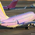 Photos: FDA フジドリームエアラインズ ERJ-175 JA16FJ バイオレット 県営名古屋空港にて  IMG_8107_3