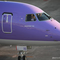 Photos: FDA フジドリームエアラインズ ERJ-175 JA16FJ バイオレット 県営名古屋空港にて  IMG_8099_3