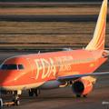 Photos: FDA フジドリームエアラインズ ERJ-175 JA05FJ オレンジ 県営名古屋空港にて  IMG_8089_3