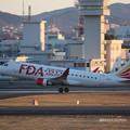 Photos: FDA フジドリームエアラインズ ERJ-175 JA12FJ ホワイト 県営名古屋空港にて  IMG_8086_3