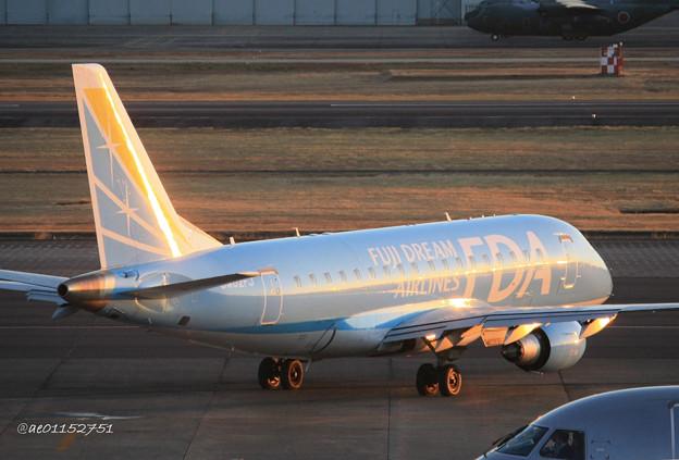 Photos: FDA フジドリームエアラインズ ERJ-170 JA02FJ 県営名古屋空港にて IMG_8062_3