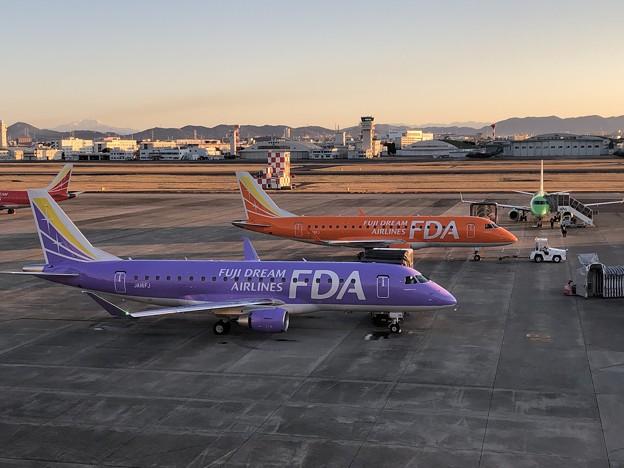 2020年元旦の県営名古屋空港 B257ED56-4F91-4898-B464-D1284F0D2D96