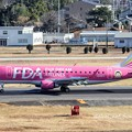 Photos: FDA フジドリームエアラインズ ERJ-175 JA03FJ ピンク IMG_8295_3