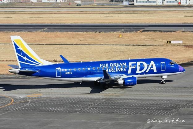 FDA フジドリームエアラインズ ERJ-175 JA13FJ ネイビー IMG_8357_3
