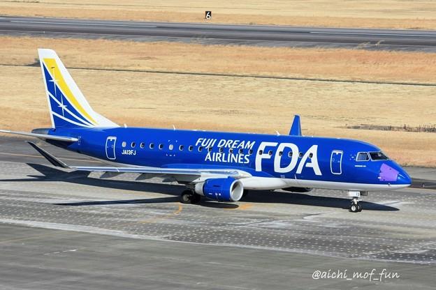 FDA フジドリームエアラインズ ERJ-175 JA13FJ ネイビー IMG_8354_3