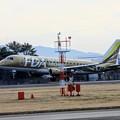 Photos: FDA フジドリームエアラインズ JA09FJ ゴールド ERJ-175 IMG_8548