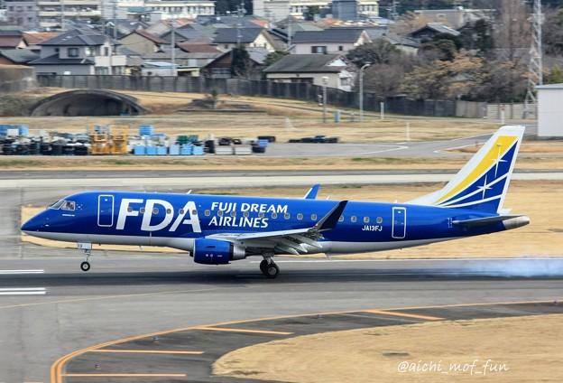 FDA フジドリームエアラインズ ERJ-175 JA13FJ ネイビーブルー IMG_8603_3