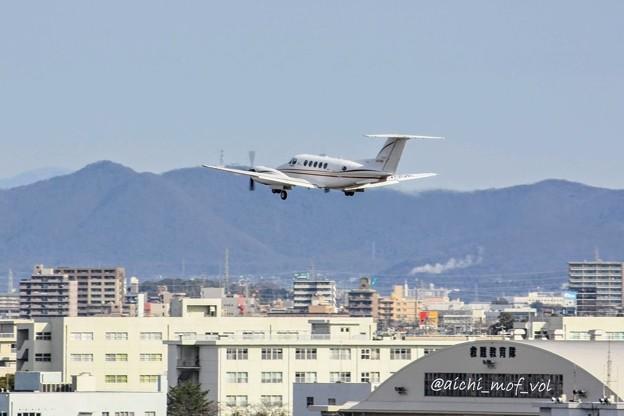 ダイヤモンド・エア・サービス ビーチクラフト 200 Super King Air JA20DA  IMG_9201_3