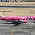 FDA フジドリームエアラインズ エンブラエル ERJ-175 JA15FJ ローズピンク  IMG_9282_3