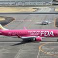 FDA フジドリームエアラインズ エンブラエル ERJ-175 JA15FJ ローズピンク  IMG_9281_3