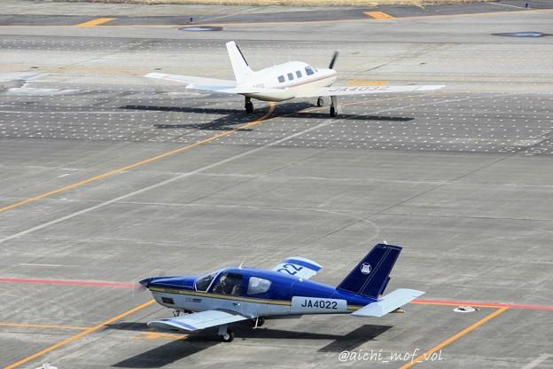 ソカタ TB-20/21 Trinidad JA4022 & パイパー PA-46 Malibu JA4032 IMG_9276_3