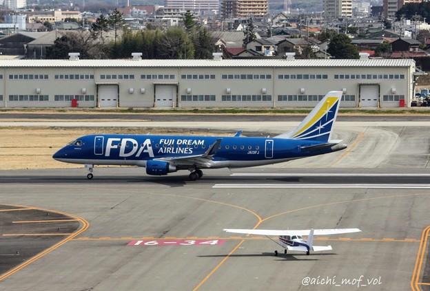 FDA フジドリームエアラインズ JA13FJ ネイビー ERJ-175 IMG_9258_3