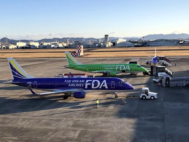 県営名古屋空港の朝 IMG_5589