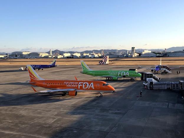 県営名古屋空港の朝 IMG_5587