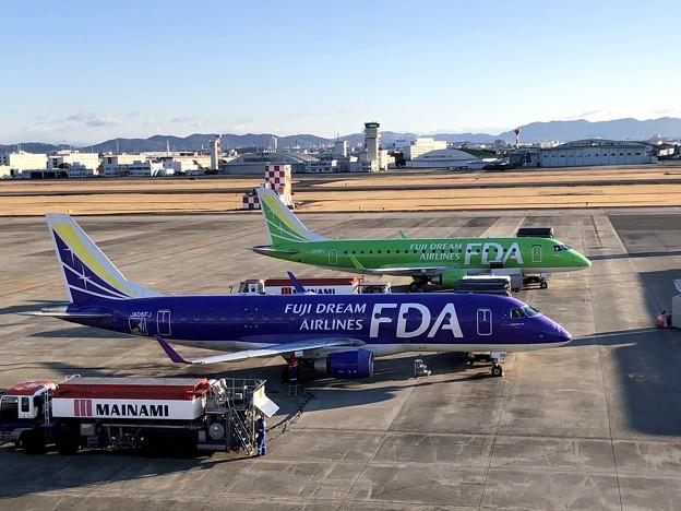 県営名古屋空港の朝 IMG_5591