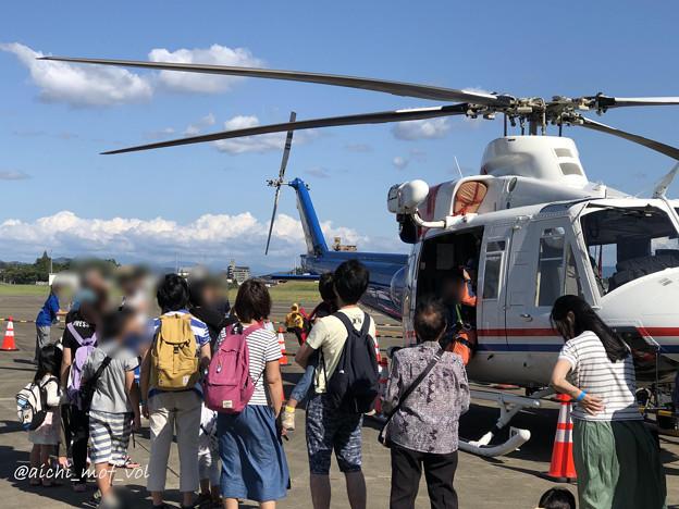 愛知県防災航空隊 ベル412 JA23AR わかしゃち IMG_5960_3