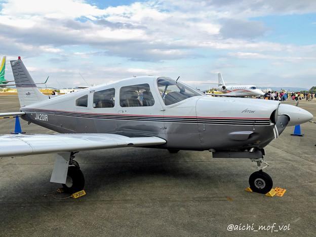JA201R パイパーPA-28 チェロキー IMG_4882_3