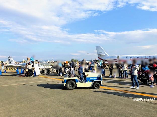 県営名古屋空港「空の日」会場風景 IMG_6045