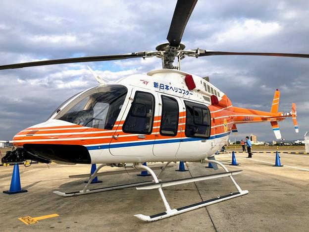 新日本ヘリコプター ベル412 JA6410 JA6410  IMG_4896