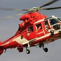 名古屋市消防航空隊 ユーロコプター AS365/565 ドーファン2 JA758A のぶなが IMG_6502_2