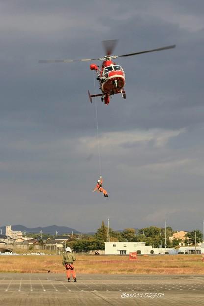 名古屋市消防航空隊 ユーロコプター AS365/565 ドーファン2 JA758A のぶなが IMG_6490_3