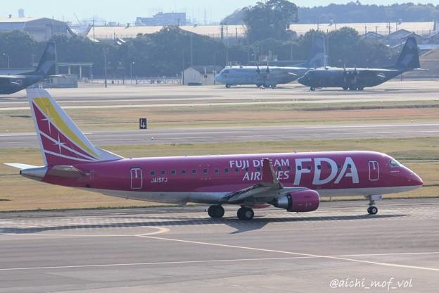 FDA フジドリームエアラインズ JA15FJ ローズピンク ERJ-175 IMG_9339_3