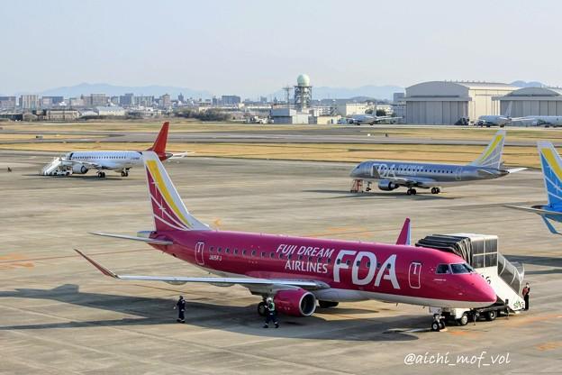 県営名古屋空港の朝 IMG_9302_3