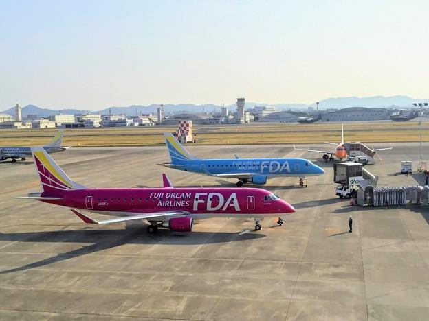 県営名古屋空港の朝 IMG_6357