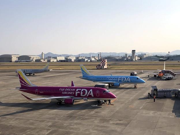 県営名古屋空港の朝 IMG_5856