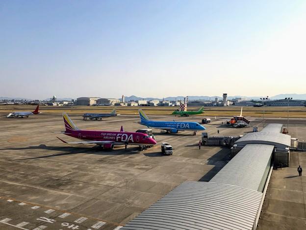 県営名古屋空港の朝 IMG_5854
