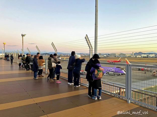 元旦の県営名古屋空港 IMG_5313_3