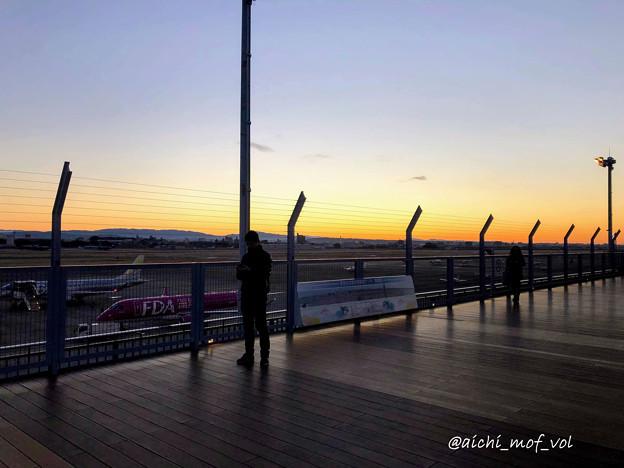 元旦の県営名古屋空港 IMG_5312_3