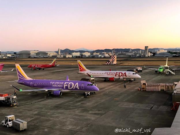元旦の県営名古屋空港 IMG_5309_3