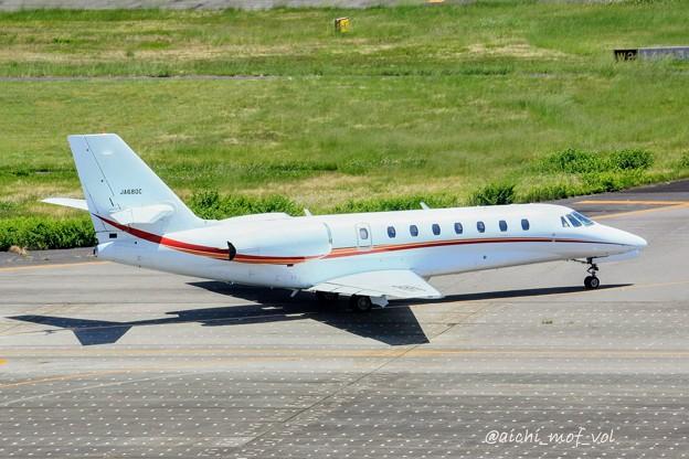 朝日航洋 セスナ680 Cessna 680 Citation Sovereign JA680C IMG_9921_3