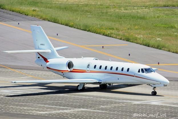 朝日航洋 セスナ680 Cessna 680 Citation Sovereign JA680C IMG_9918_3