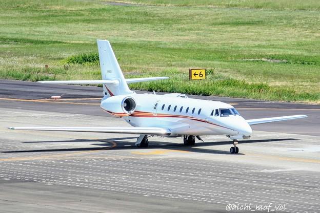 朝日航洋 セスナ680 Cessna 680 Citation Sovereign JA680C IMG_9915_3