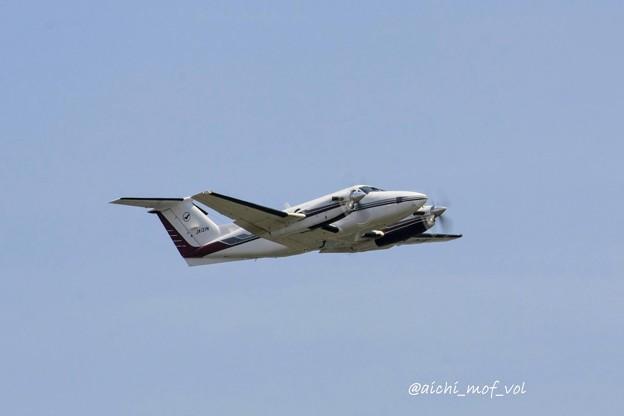 中日本航空 Beechcraft 200 Super King Air JA121N IMG_9762_3