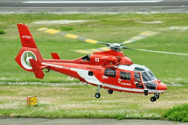名古屋市消防航空隊 Airbus Helicopters AS365N3 Dauphin 2 JA758A のぶなが IMG_9620_3