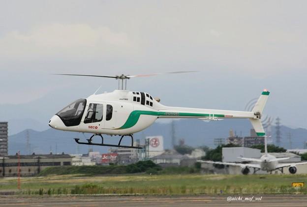Photos: セコインターナショナル ベル505 ジェットレンジャーX JA505X IMG_9589_3