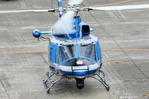 愛知県警察 Bell412EP JA21AP あけぼの IMG_9640_3