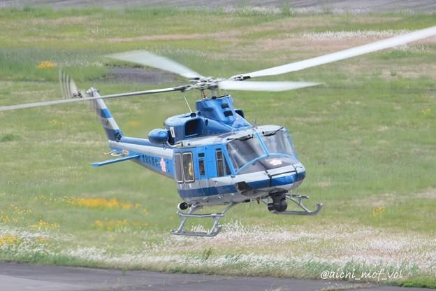 愛知県警察 Bell412EP JA21AP あけぼの IMG_9633_3
