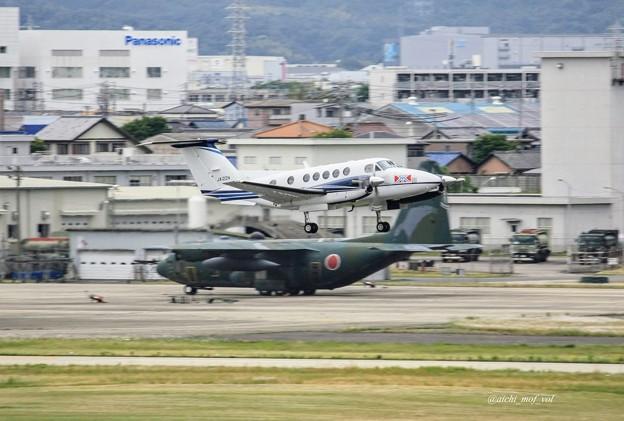 中日本航空 Beechcraft B200 Super King Air JA122N IMG_9626_3