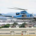 Photos: 愛知県警察 Bell412EP JA21AP あけぼの IMG_9567_3