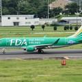 FDA フジドリームエアラインズ JA11FJ グリーン ERJ-175 IMG_0340_3
