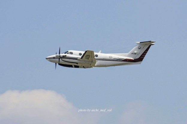 中日本航空 Beechcraft 200 Super King Air JA121N IMG_1845_3